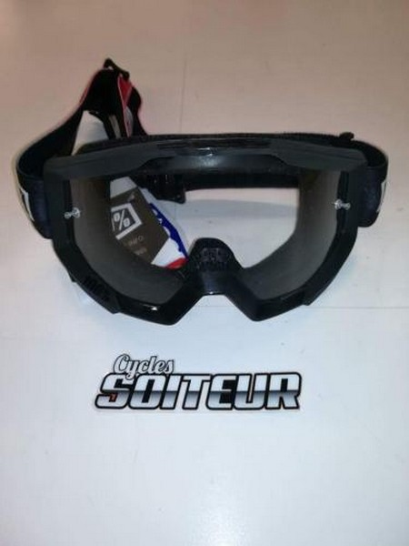 lunette motocross 100 strata slash cycles soiteur. Black Bedroom Furniture Sets. Home Design Ideas